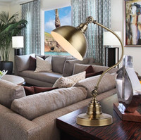american metal works - Chang American luxury goods decorative metal retro den bedroom reading lamp creative work folding special offer
