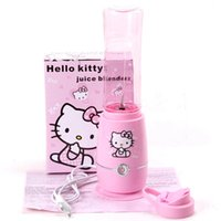 Wholesale New arrival Hello Kitty mini multifunction juicer mixer cooking machine baby food supplement machine