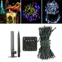 led solar lights - 2m Waterproof Solar Power LED String Fairy Light Outdoor For Christmas Party Garden