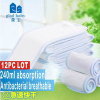 Wholesale hot sale Gladbaby ML quick dry diapers Recycling environmental pollution free insert diaper Very breathable
