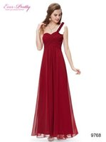 aline prom dresses - New Style Summer Long Prom Dresses Aline red Champagne Chiffion With Beads Sweetheart Party Dress Evening Ball Gowns