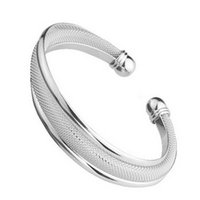 Cheap bangles Best 999 fine sterling silver jewelry
