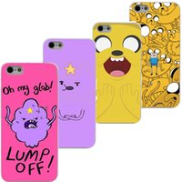 adventure time case - Adventure Time with Jake and Finn Hard white Clear Cover Case for iphone s s c S plus