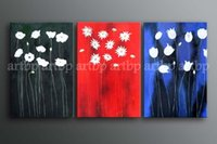 beautiful headboards - Handmade High Quality Beautiful Floral Art Oil Painting Canvas Oil Painting Headboard Wall Panel For Decoration Restauran