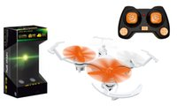 Wholesale MICRO DRONE Remote Control Line supermini Four axis aircraft RC Helicopter Headless Mode One key to return