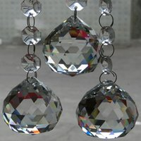 beaded pendant lights - mm transparent crystal lighting ball crystal chandelier ball beaded curtain pendant fengshui hanging