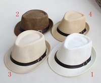 Wholesale new Baby hats kids children s Caps accessories headwear fedora caps T colors