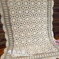 best selling sofas - Best selling elegant White flower table cloth cotton lace cutout sofa cover piano table cloth cover door curtain