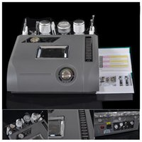 Wholesale 6 in Mesotherapy Diamond Microdermabrasion Hot Cold Hammer Skin Scrubber Photon BIO Face Lift Beauty Machine RTNV E6