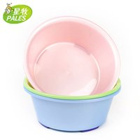 Wholesale Basins nacre wash baby bathtub Thickening plastic Green Pink Blue Big size household multi use