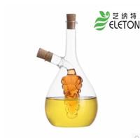 sauce bottles - Art Nutt Authentic green cruet jar kitchen oil leak proof Oiler bottle glass oil and vinegar sauce bottle specials