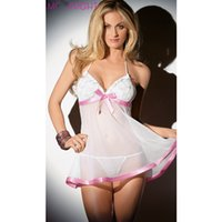 fashion pajamas - new fashion baby doll dress white Hot Sexy Lingerie for women pajamas sexy lingerie chemises