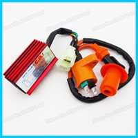 Cheap Ignition Coil & Racing 6 Pin CDI Box For GY6 50cc 125cc 150cc Moped Scooter Motocross Motorbike ATV Go Kart order<$18no track