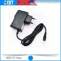 Wholesale 40pc For Android Tablet Win mm V A EU Power Adapter AC Wall Charger with cable