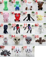 Wholesale Minecraft plush Sheep Plush cm My world minecraft JJ coolie creeper strange fear in sheep different styles