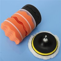 Wholesale High Quality inch Buffing Pad Sponge Kit For Polishing Auto Car M14 Drill Adapter Lowest Price