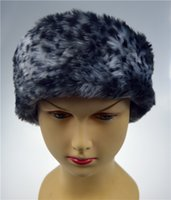Wholesale Winter Faux Fur Hat Ski Head band Hair Band Tenia Earwarmer