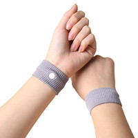 Wholesale Sports Safety Wrist Support Travel Wristbands Anti Nausea Car Seasick Anti Motion Sickness Motion Sick Wrist Bands