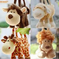 achat en gros de tissu sac de poupée-Poupée jouet Totes sacs à main Zipper coton jouets en tissu Doll enfants Cadeaux Mini sac TA0024