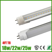 Wholesale Promotion W W W FT T8 Led Tube Light M AC85 V LM W High Brightness CE Rohs UL approved Fedex