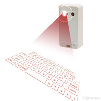 Wholesale Crazy Queen New Wireless Bluetooth Laser Virtual Projection Keyboard For Android Apple Phone PC Laptop Tablet