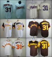 baseball coffee - Dave Winfield Jersey Vintage San Diego Padres Throwback Jerseys Coffee White Pinstripe