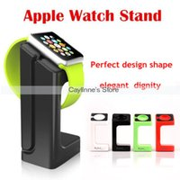 Wholesale 100pcs Charging Stand for Apple Watch Wireless Charging Stand for Display for iWatch Holder Keeper order lt no track