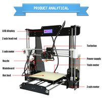 Wholesale Easy to use LCD screen Acrylic Reprap I3 DIY d sublimation printer
