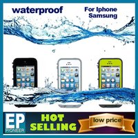 red pepper - For iphone S iphone Samsung S4 S5 Note3 life Waterproof Case Retail Packaging Waterproof red pepper free DHL