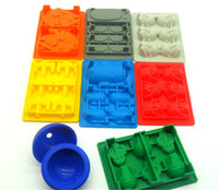 Wholesale 600pcs set Star Wars Funny Candy Bake Maker Ice Tray Silicone Mold Ice Cube Tray Chocolate Fondant Mold Death Star X Wing D480
