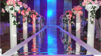 plastic columns - White Plastic Roman Columns Road Cited For Wedding Favors Party Decorations Hotels shopping mall Welcome Road Leader
