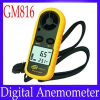 Wholesale Digital Anemometer GM816 m s with outer covering