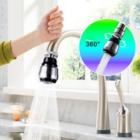 Wholesale 360 Rotate Swivel Faucet Nozzle Torneira Water Filter Adapter Water Purifier Saving Tap Aerator Diffuser Kitchen Accessories