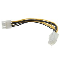 Wholesale Brand New Express Pin to Pin Card Power supply Converter Adapter Cable Wire for CPU Video Card Length cm quot