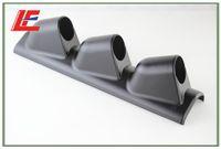 Wholesale Universal mm Triple Gauge Pillar Pod Holder LHD BLACK