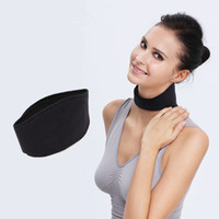 Wholesale Braces Supports Tourmaline Self Heating Neck Guard Magnetic Therapy Neck Massager Cervical Belt Body Massager MaNeck Health Care