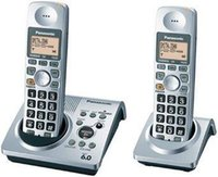 cordless phones - KX TG s DECT Cordless Phone Set Daul Handset Digital Wireless Telephone Answering Recording Stand alone Home Phone