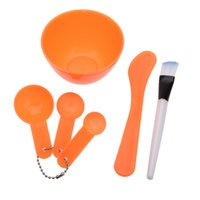 Wholesale Hot Selling Set in DIY Beauty Homemade Face Mask Bowl Women Beauty Accessories Tools Mask Brush Stick Gauge