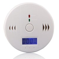 Wholesale LCD Carbon Monoxide Detector CO Poisoning Smoke Gas Sensor Warning Alarm Tester