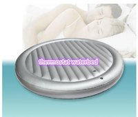 Wholesale pc Hot sale set price Inflatable Water bed Mattress Inflatable Round bed Thermostat Waterbeds romantic