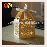 arabic wedding favors - WB004 arabic chocolate gift box laser cut wedding favors gift box with ribbon free logo