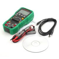 achat en gros de mastech autoranging-Haute Qualité MASTECH MS8250B Autoranging compteur multimètre numérique avec un transfert de données USB et sans contact pour détecteur de tension $ piste 18Personne