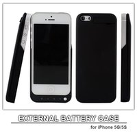 cell phone battery pack - 2200mAh external power pack for iphone G iphone S power case external battery power bank cell phone charger