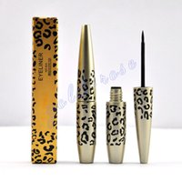 Wholesale HOT NEW Makeup Leopard Waterproof Eyeliner Liquide Black ML FREE GIFT