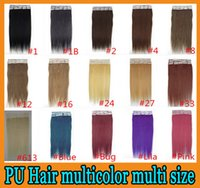 best skin weft - Remy human hair Weave PU Skin Weft Tape hair extensions inch Brazilian malaysian indian set A Best Quality