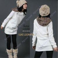 sweatshirt hoodies - Women Autumn Hoodies coat Leopard Hoodie Sweatshirt Top Outerwear Parka