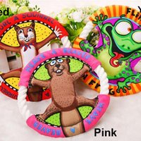 Wholesale Popular Pet Toys Fat Cats Cartoon Frisbee Molar Tooth Cleaning Dog Toys Cat Toys Pet Supplies UFO Toys Color