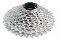 Wholesale taiwan sunrace ms1 speed cassette t bike freewheels mountain bike cassette integrated freewheel Lightweight hollow out the flywheel