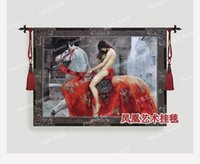 Wholesale Hot selling master painting series sitting room the bedroom living room tapestry