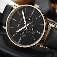 Wholesale NARY Rosa s genuine leather strap watch card watch waterproof male trend of men s watch watches quartz watch